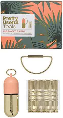 Pretty Useful Tools Hair Pin Hideaway Caddy With Handy Carabiner Bag Connector