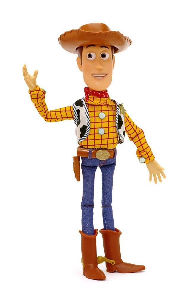 Disney Store 40cm Parlante Woody Peluche Toy Story 3 Originale Bambola Sceriffo Giocattolo Di Andy Parla Action Figure USA B000EDQGLK