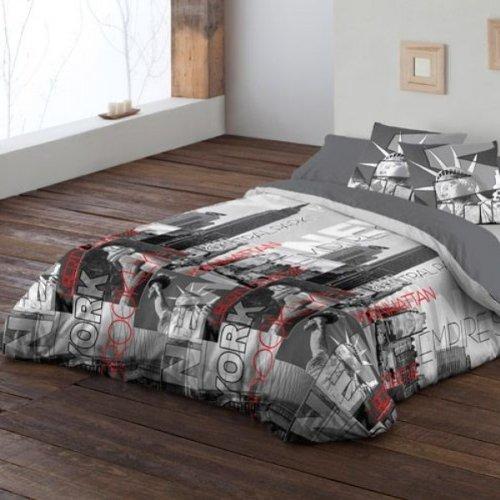 Pierre Cardin 220x270 Funda n/órdica 135 cm. F/ácil planchado. bajera y almohad/ón Nueva York