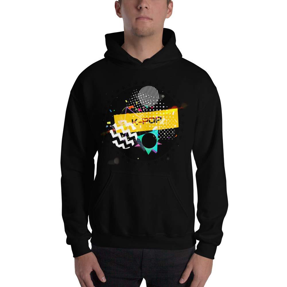 C R B N Kpop Music Graphic Hoodie Sweatshirt for Men Women