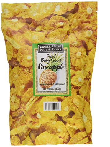 Trader Joes Pineapple unsweetened unsulfured