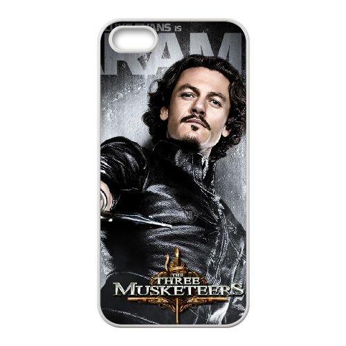 The Three Musketeers 2 coque iPhone 4 4S cellulaire cas coque de téléphone cas blanche couverture de téléphone portable EOKXLLNCD20267