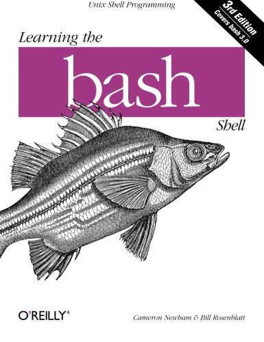 Learning the bash Shell: Unix Shell Programming (In a Nutshell (O'Reilly)) by imusti