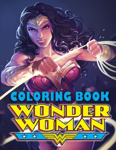 F.R.E.E Wonder Woman coloring book K.I.N.D.L.E