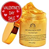 24K Gold Facial Mask By White Naturals: Rejuvenating Anti-Aging Face Mask For Flawless