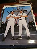 2002 San Diego Padres amp; air craft carrier Baseball poster bx-sd