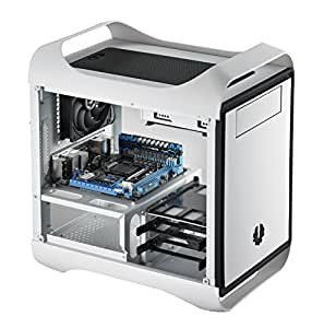 BitFenix Mini-ITX Tower Case Without Power Supply, Arctic White BFC-PRO-300-WWXKW-RP