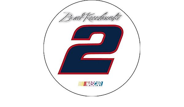 FanNut.com Brad Keselowski #2 5x6 Vinyl Magnet Auto Home Nascar Racing