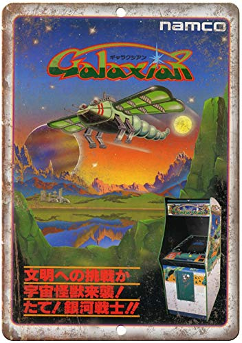 Used, Namco Galaxian Chinese Arcade Game Ad Reproduction for sale  Delivered anywhere in Canada