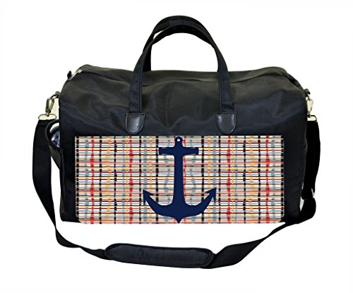 Pin on Crisscross Pattern Weekender/Overnighter Bag