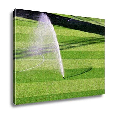 Ashley Canvas, Irrigation Turf Of Luigi Ferraris Marassi Stadium Genoa Italy, Home Decoration Office, Ready to Hang, 20x25, AG5829490 by Ashley Canvas