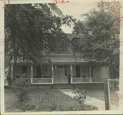Press Photo W. B. Bates House:
