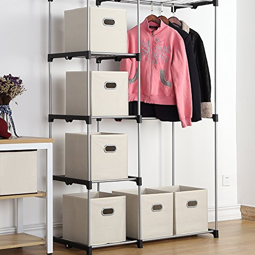 MAX Houser Fabric Cloth Storage Bins,Foldable Storage Cubes ...