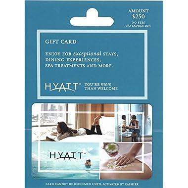 Hyatt $250 Gift Card