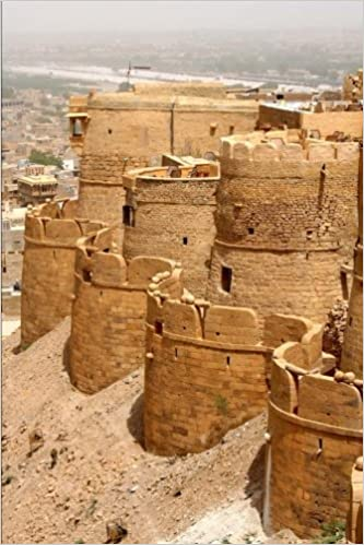 Jaisalmer Fort in Rajastan India Journal