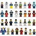 Ths8 Minifigures Set Of 32 Figures Building Bricks Community Mini People And Accessories
