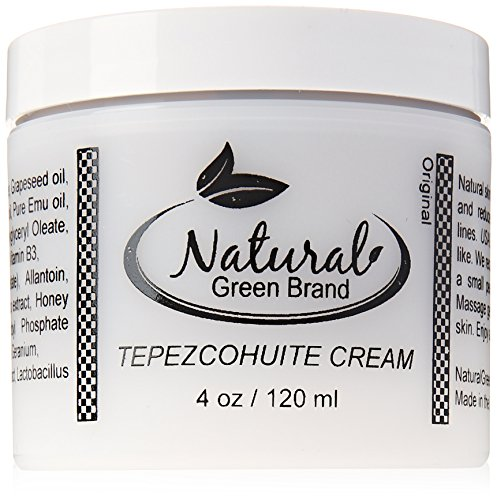 ASDM Beverly Hills Tepezcohuite Cream 4oz/120ml Natural Skin Scar, Burn, Abrasion and Eczema Healing...