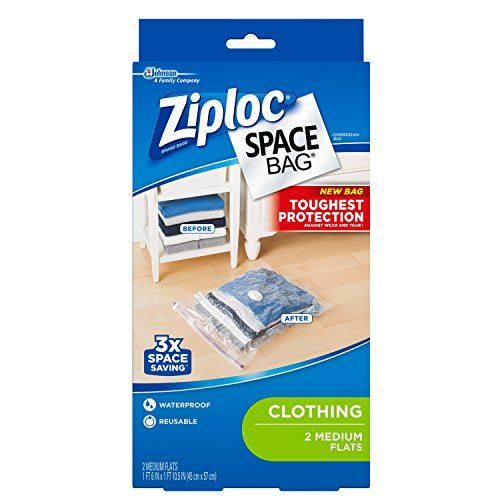 ziploc vacuum storage bags medium - 1