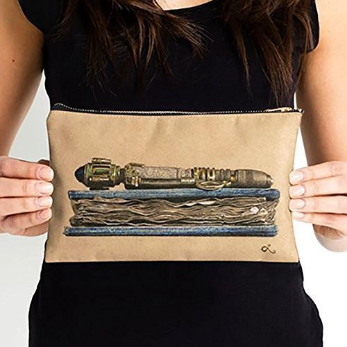 River Song Bag | Doctor Who Clutch | Zipper Pouch by LoLo-ology