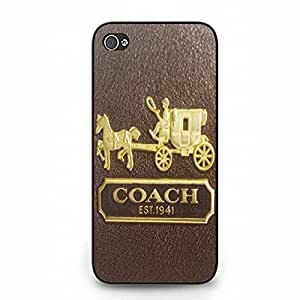 Hot Coach Phone Case Cover For Iphone 5/5S Coach Stylish