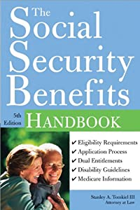 Social Security Benefits Handbook 3rd By Stanley A