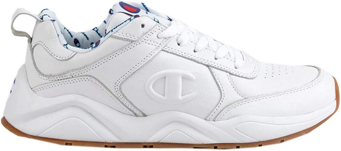 Champion Mens Leather Shoe Size 9Amazon 93EIGHTEEN White bgvI7Ymf6y
