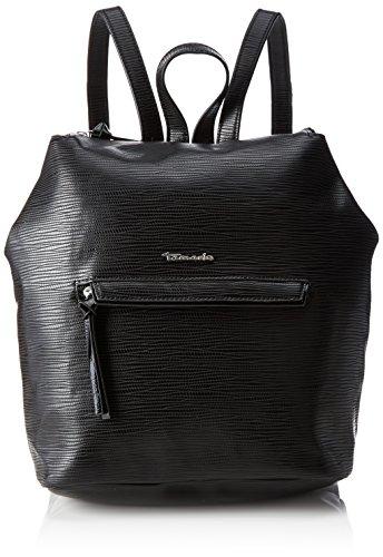 femme B H Schwarz Backpack Black Babette Comb 7x30x34 x Sacs T portés Tamaris cm dos YXPOAx