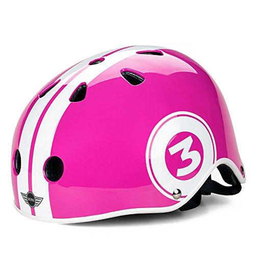 rastar星輝寶馬mini安全帽兒童自行車騎行配件兒童安全頭盔 (粉紅)