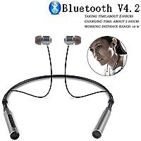 Stealkart Neckband In Ear Wireless Bluetooth Headphones with Mic
