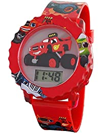 Blaze and The Monster Machines Kid's Digital Light Up Watch BLZ4002