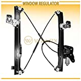 WIN-2X New 1pc Rear Passenger Right Side Power Window Regulator With Motor Assembly Fit Cadillac Escalade EXT/ESV Chevy Suburban Avalanche GMC Yukon XL Silverado/Sierra 1500 2500 3500 Classic Crew Cab
