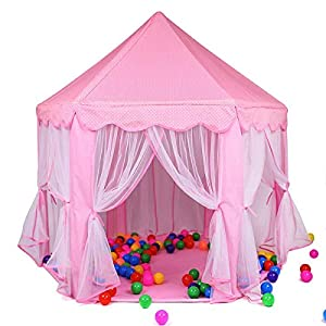 Toyshine Pink Polka Princes Castle...