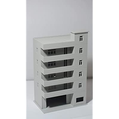 Outland Models Railway Modern Tall School / Apartment N Scale 1:160: Toys & Games