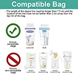 Maymom Breastmilk Storage Bag Adapters for