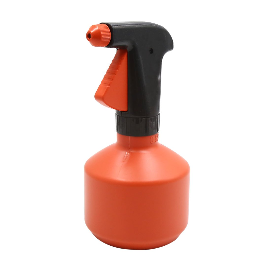 uxcell Plastic Orange Car Trigger Spray Bottle Window Washing Cleaner Tool 0.85L
