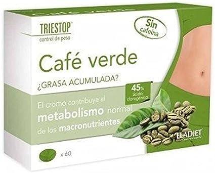 Triestop Café Verde 60 comprimidos de 600 mg. de Eladiet: Amazon ...