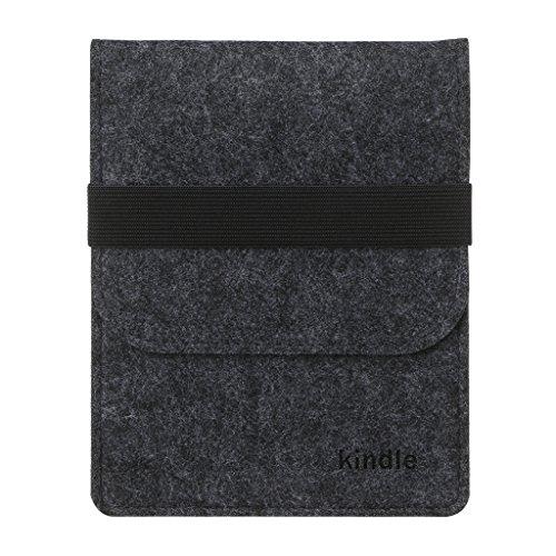 RingBuu Slim Felt Bag Sleeve Case For Amazon Kindle Paperwhi
