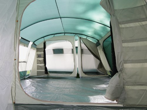 Skandika hurricane 12 man family tent for Toile de tente 4 chambres