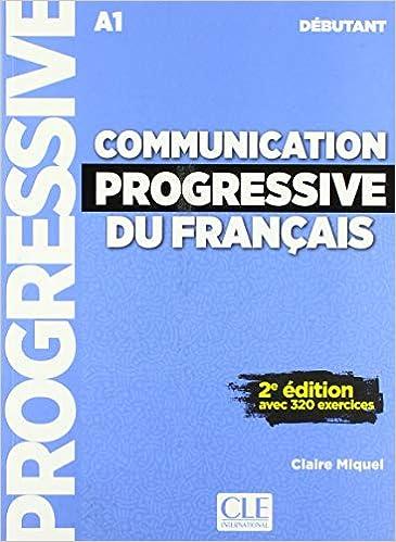 Communication Progressive Livre Avec 320 Ecercices Audio