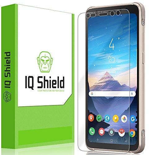 Price comparison product image Galaxy S8 Active Screen Protector,  IQ Shield LiQuidSkin Full Coverage Screen Protector for Galaxy S8 Active HD Clear Anti-Bubble Film