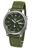 Seiko SNK 805 K 2 - Reloj de pulsera para hombre, color caqui y verde