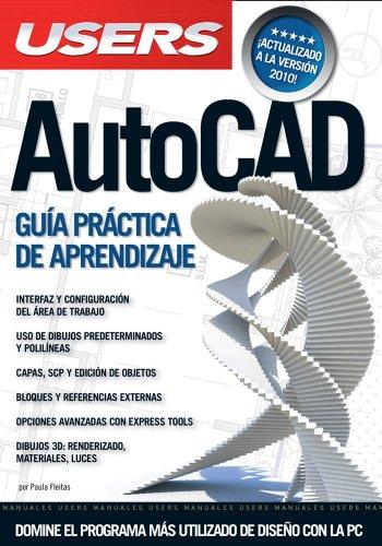 AutoCAD: Espanol, Manual Users, Manuales Users (Spanish Edition) [Paula Fleitas] (Tapa Blanda)