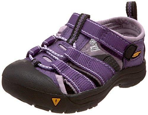 Keen Newport H2 Kleinkind Jungen Lila Rund Fischer Sandalen Schuhe Neu EU 22