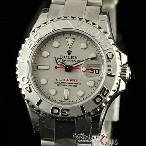 Rolex Yacht-Master Swiss-Automatic Female Watch 169622 (Certified Pre-Owned)