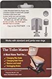 The Toilet Master Toilet Bolts is a No Tool, No