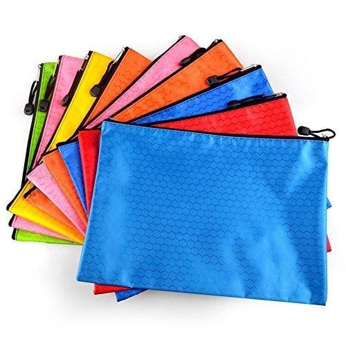 /5/pcs A4 mmy-perles Matte f/útbol chemise-paquet cartera Pochette en PVC Zip Document dossier-a5/