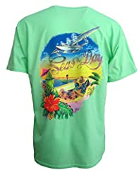 This is the collection that Beach Lovers and Parrotheads can't get enough of! See our other similar shirts on Amazon. We have several other Amazing prints! The unique designs and vibrant artwork on these shirts is second to none! Renowned Flo...