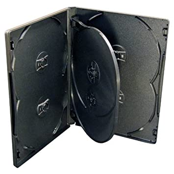 10 estuches para CD/DVD/Bluray, 6 bandejas por unidad ...