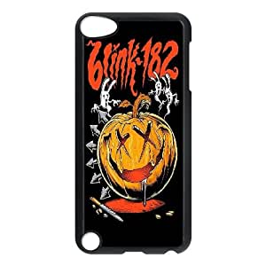 Qxhu Blink 182 patterns Hard Plastic Back Protective case for Ipod Touch5
