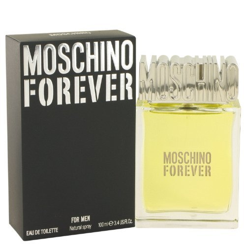 Moschino Forever By Moschino 3.4 oz Eau De Toilette Spray for Men (Best Male Perfume Ever)